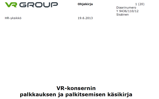 VR-Palkitsemiskäsikirja