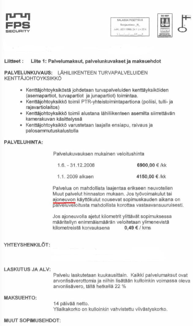 FSP-sopimus